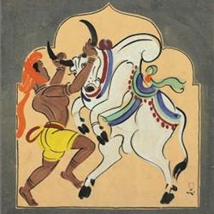 CHRISTIE'S TO AUCTION ONE OF THE MOST IMPORTANT COLLECTIONS OF MODERN INDIAN WORKS