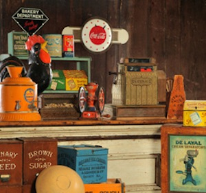 Selections from the J. Garland Warren Country Store Collection to be sold at Garth's October 5, 2013