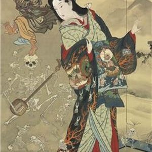 Christie's auctioneers announce the rediscovery of an important Japanese hanging scroll-painting
