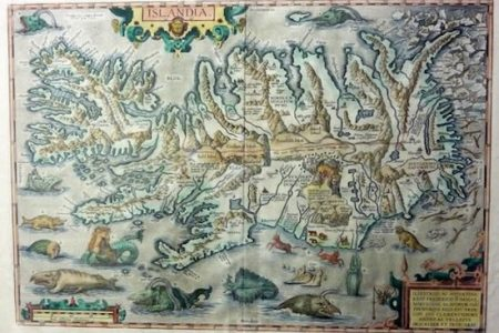 MAP OF ICELAND BRINGS £4,000 AT RICHARD WINTERTON AUCTION