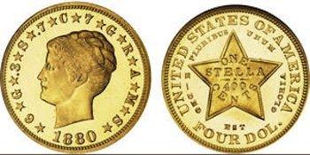 $4 Stella coin makes $2.5 million at Bonhams Coin auction