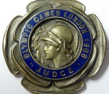 RARE MEMENTO OF OLYMPIC HISTORY UNDER THE HAMMER AT RICHARD WINTERTON AUCTIONEERS