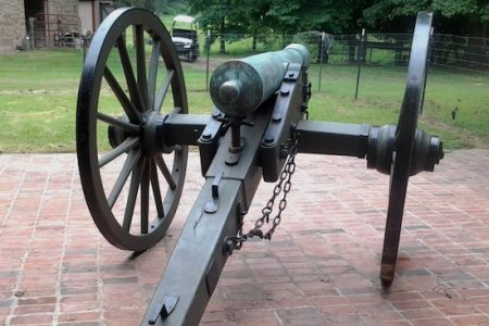 AUTHENTIC CIVIL WAR CANNON FIRED BY UNION TROOPS AT THE BATTLE OF GETTYSBURG IN 1863 HITS THE MARK FOR $86,250 AT AUCTION HELD OCT. 12th