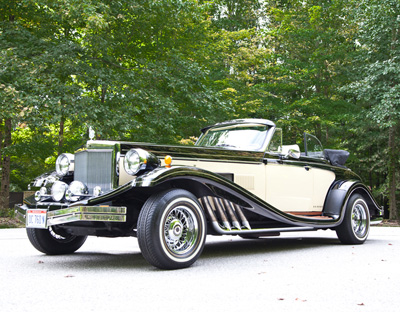 1989 Clenet Cabriolet* to be sold November 1 at Garth's Auctions in Delaware, Ohio