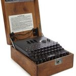 Enigma enciphering machine for auction at Bonhams