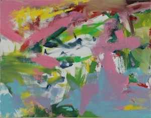 "Willem de Kooning, Untitled, c. 1989, Oil-on-canvas, 28 1.2"" x 22"""