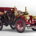 Teak bodied 1903 Clement TaLBOT, a veteran of the London to Brighton Run auctioned at Bonhams