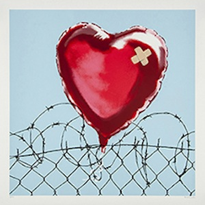 Banksy (b.1975) - Love Hurts