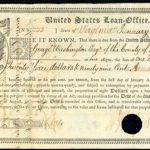A GEORGE WASHINGTON SIGNED U.S. FEDERAL BOND FROM 1792, SETTING A WORLD RECORD PRICE OF $265,500 FOR A U.S. SCRIPOPHILY ITEM, WAS THE HIGHLIGHT OF ARCHIVES INTERNATIONAL AUCTION