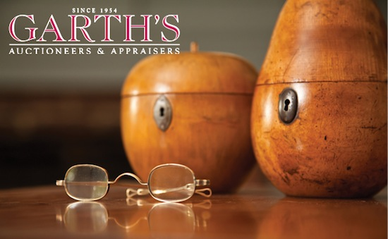 Garth's offers 662 lots during November 29th Americana Auction giving buyers an improvement over the typical Black Friday.
