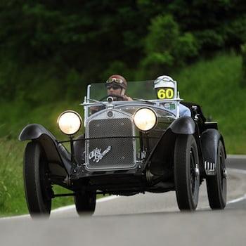 The ex-Baron Philippe de Gunzbourg,1931 Alfa Romeo 6C 1750 Supercharged Gran Sport Spider