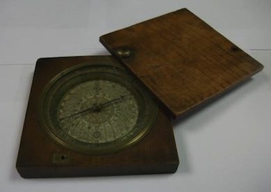 A Henry Sutton's Compass Dated 1654