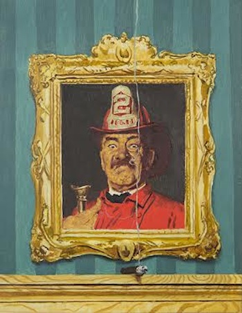 Norman Rockwell, The Fireman