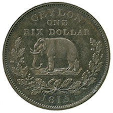 1815 George III (1760-1820) Silver Pattern-Rix Dollar