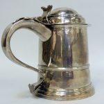 DRINK TO THAT…..RARE SILVER TANKARD RAISES £4,000 AT RICHARD WINTERTON AUCTION