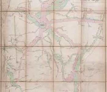 Map By Graphic Design Pioneer Charles Joseph Minard Sells for £5,208 at Dreweatts & Bloomsbury Auctions
