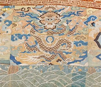 Rare 17th Century Chinese Wall Hanging Headlines At Dreweatts & Bloomsbury Auctions