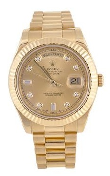 A 2008 Rolex, Oyster Perpetual Day-Date gentleman's 18 carat gold watch