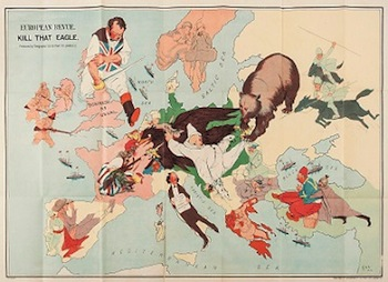 The Political Satire of The First World War A Sale of Maps & Atlases