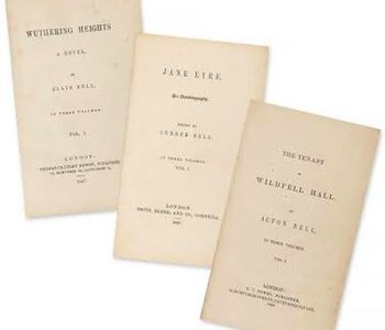 First Edition Set of Bronte Sisters Works