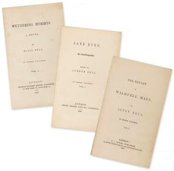 Collection of First Edition Novels  by the Bronte sisters sells for £111,600