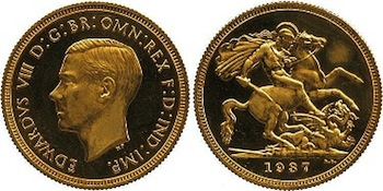 Record Breaking Sovereign Sells for £516,000