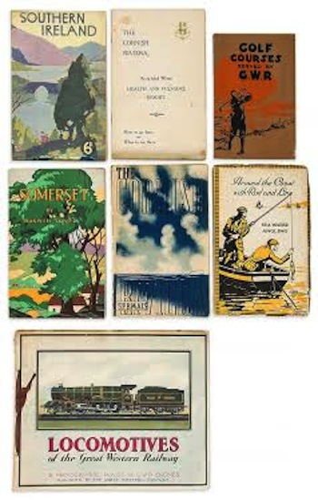 Virtually complete set of all the Great Western railway publications