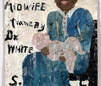 RECORDS SET AT SLOTIN FOLK ART AUCTION'S DELTA BLUES TO VISUAL BLUES SALE HELD APRIL 26-27 IN BUFORD, GA.; PAINTING BY SAM DOYLE HITS $204,000