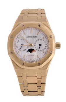 Audemars Piguet, Royal Oak gentleman's 18 carat gold wristwatch