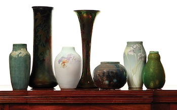 Garth's Auctions August Eclectic Features Ohio Pottery & Much More