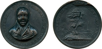 Robert Orchard, Copper Penny, 1801, sold for £7,920