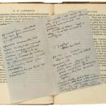 Books owned and annotated by D.H. Lawrence's jilted lover to go under the hammer in London