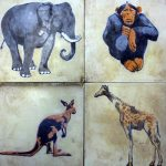 Art Deco Tiles destined for Skip sell for £370 at Richard Winterton Auction