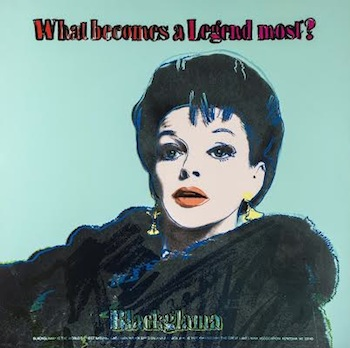 Andy Warhol (1928-1987) Blackglama (Judy Garland) Trial Colour Proof [Lot 264]