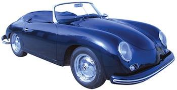 "1959 356A/1600 Porsche convertible ""D"" vintage car  in excellent running condition."