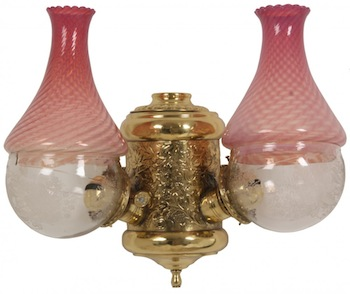 The auction will feature numerous example of vintage lamps and lighting (to include angle lamps and skater lamps).
