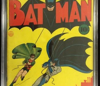 VINTAGE COMIC BOOKS FROM TWO IMPORTANT COLLECTIONS, PLUS ORIGINAL COMIC ART AND SPORTS ITEMS, WILL BE SOLD AT PHILIP WEISS' FEB. 15th SALE