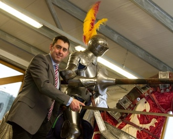 Ben Gamble MD and Head Auctioneer of Cuttlestones