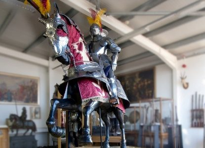 Your knight in shining armour? Significant suits of armour to sell at March armouries sale
