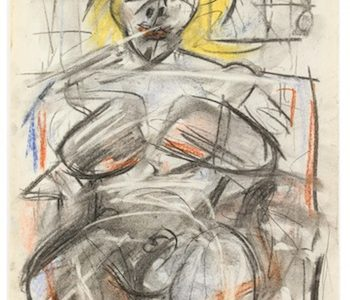 ORIGINAL PASTEL AND MIXED MEDIA ON PAPER BY WILLEM DE KOONING MAY SELL FOR $700,000-$900,000 AT AHLERS & OGLETREE'S SPRING SALON AUCTION