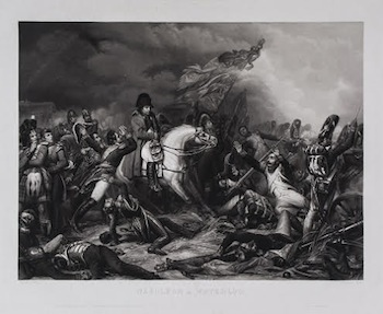 Jean-Pierre-Marie Jazet (1788-1871) Napoléon a Waterloo, after Charles Auguste Steuben (1788-1856) £300-500 [Lot 18]