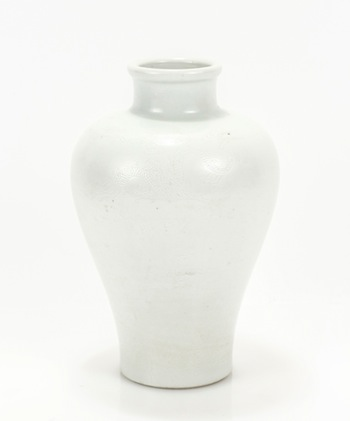 Rare Chinese Ming Dynasty porcelain vase dating to the Chenghua period (1465-1487), 8 ½ inches tall ($6,500).