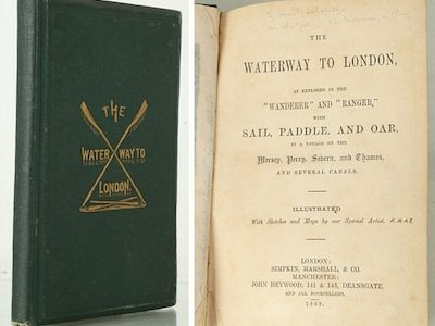 Sale of Canal and River Books at Chiswick Auctions