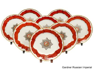 Rare Russian Imperial porcelain leads at Auction Gallery of the Palm Beaches, October 19