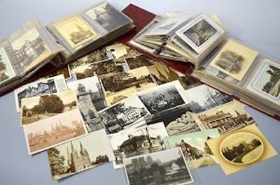 Richard Winterton auction postcards