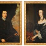 PORTRAITS OF 17th CENTURY BRITISH NOBILITY BY ENGLISH PAINTER JOHN HAYLS SELLS FOR $14,160 AT AHLERS & OGLETREE,