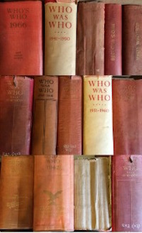 Lot 12 Who's Who by A. C. Black