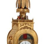 CHINESE ANIMATED BRACKET CLOCKS REALIZE A COMBINED $435,600 AT FONTAINE'S AUCTION GALLERY'S FEB. 27th CATALOGED AUCTION