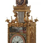 RARE ANTIQUE CHINESE ANIMATED TRIPLE FUSEE BRACKET CLOCK SOARS TO $1.27 MILLION AT FONTAINE'S MAY 21st ANTIQUE & CLOCK AUCTION IN PITTSFIELD, MASS.