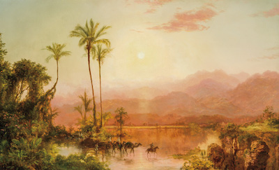 PREVIOUSLY UNRECORDED PAINTING BY LOUIS REMY MIGNOT (AM., 1831-1870) SOARS TO $120,000 AT SHANNON'S FINE ART AUCTIONEERS APRIL 28th AUCTION